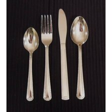 Day To Day 16 Piece Bead Cutlery Set in Silver