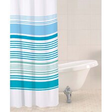 Bathroom Essentials Stripe Shower Curtain