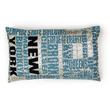 Azure Five Boroughs Cushion