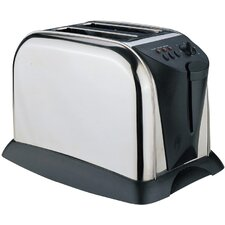 Two Slice Stainless Steel Toaster