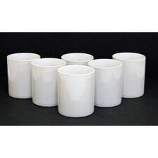 Super Value 11oz. Stoneware Mugs in White (Set of 6)