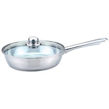 Essential Taper Shape 24cm Fry Pan with Lid