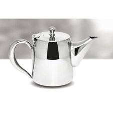 35 oz Round Teapot in Stainless Steel