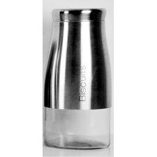 Stainless Steel Biscuit Jar