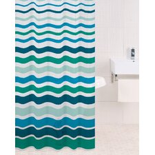 PEVA Shower Curtain in Lagoon