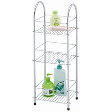 <strong>Sabichi</strong> 3 Tier Storage Unit in Chrome