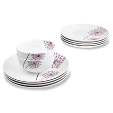 12 Piece Allium Dinnerware Set