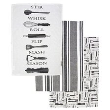 Gastro Tea Towels (Set of 3)