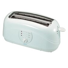 Essential 4 Slice Toaster in White
