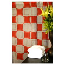 <strong>Plush Living</strong> Monogram Shower Curtain