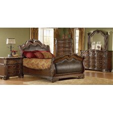 Regal Sleigh Bed