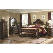 Grand European Estate Panel Bedroom Collection
