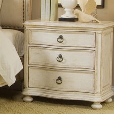 Provenance 3 Drawer Nightstand