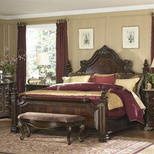 Grand European Estate Panel Bed