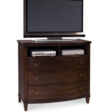 Intrigue 3 Drawer Media Chest