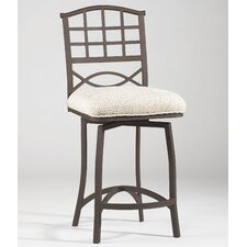 Anita Swivel Bar Stool with Cushion