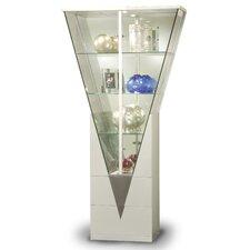 Curio Cabinet with Mirrored Interior