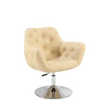 Tufted Back Pneumatic Arm Chair