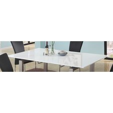Ebony Contemporary Large Extension Dining Table Top