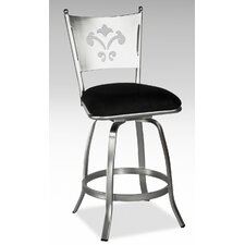 <strong>Chintaly Imports</strong> Andrea Swivel Bar Stool with Cushion