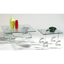 <strong>Chintaly Imports</strong> Coffee Table Set