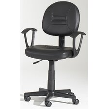 <strong>Chintaly Imports</strong> Mid-Back Hydraulic Office Chair Swivel