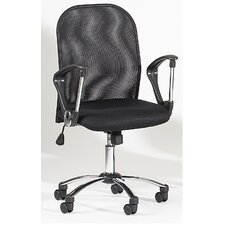 <strong>Chintaly Imports</strong> Mid-Back Mesh Office Chair Swivel