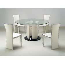 <strong>Chintaly Imports</strong> Deborah 5 Piece Dining Set