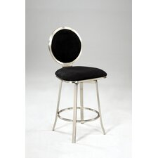 Microfiber Swivel Bar Stool