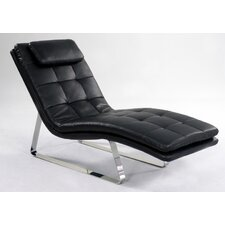 <strong>Chintaly Imports</strong> Corvette Chaise Lounge