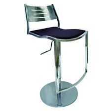 <strong>Chintaly Imports</strong> Adjustable Swivel Bar Stool with Cushion