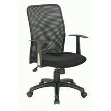 <strong>Chintaly Imports</strong> High-Back Office Chair