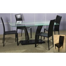 <strong>Chintaly Imports</strong> Flair 5 Piece Dining Set