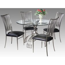 <strong>Chintaly Imports</strong> Ashtyn 5 Piece Dining Set