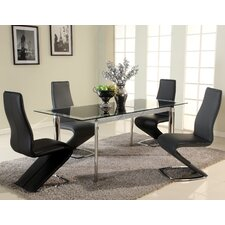 <strong>Chintaly Imports</strong> Tara 5 Piece Dining Set