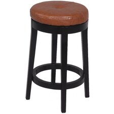 "<strong>Chintaly Imports</strong> 26.97"" Bar Stool with Cushion"