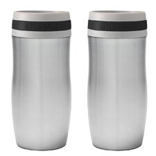 10 oz. Travel Mug with Band (Set of 2)