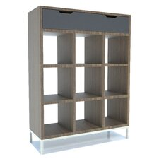 <strong>EK Living</strong> Furniture FC1 Foyer Three Shelf Bookcase