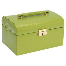 Lizard Grain Ladies Jewelry Box