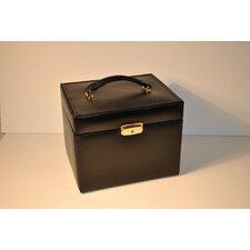 Ladies Classic Jewelry Box Travel Case