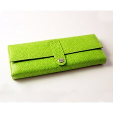 On the Go Pebble Grain Jewel Roll in Lime