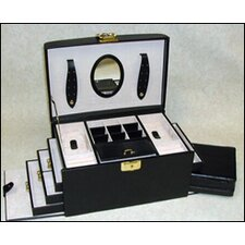 Ladies Classic Jewelry Box in Black