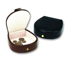 <strong>Budd Leather</strong> Men's Large Horseshoe Stud Box in Black