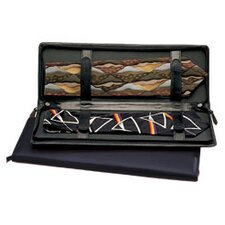 <strong>Budd Leather</strong> Men's Jewelry Zippered Tie Case