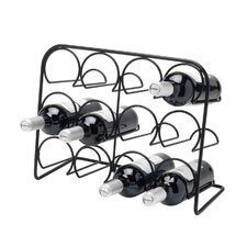 <strong>Hahn</strong> Pisa Wine Rack 12 Bottle in Gloss Black