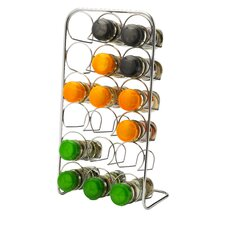 Pisa Spice Rack in Polished Chrome