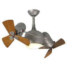 "<strong>Matthews Fan Company</strong> 41"" Dagny 6 Blade Dual Ceiling Fan with Wall Remote"