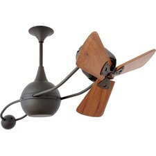 "40"" Brisa 2000 3 Wooden Blade Rotational Ceiling Fan"
