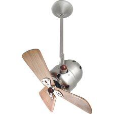 "16"" Bianca 3 Wooden Blade Directional Ceiling Fan"