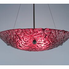 <strong>WPT Design</strong> 4 Light Bowl Inverted Pendant